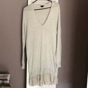 Theory cashmere/cotton dress